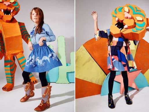 Дикий запад в детской коллекции одежды осень / зима от Stella McCartney