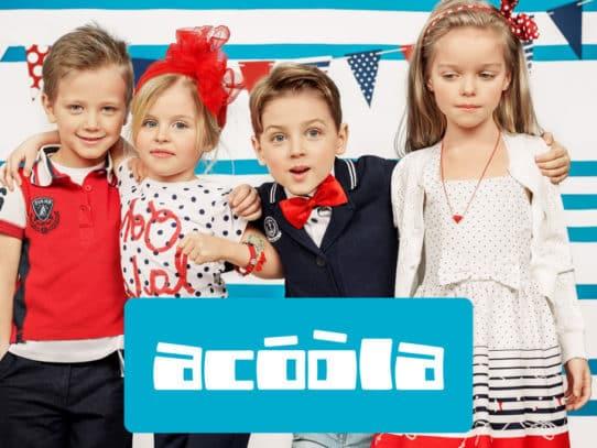 Бренд Acoola одежда для детей
