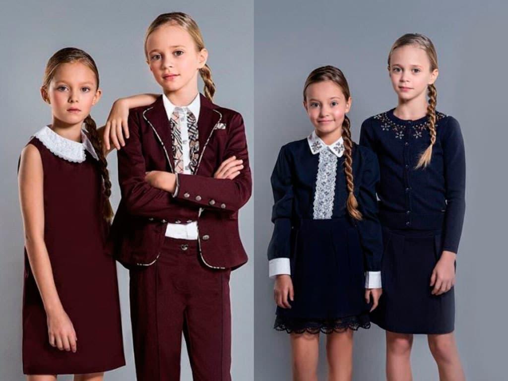 Pinetti-shkolnaya-forma Готовимся к школе! Модные тренды в школьной одежде 2017/2018