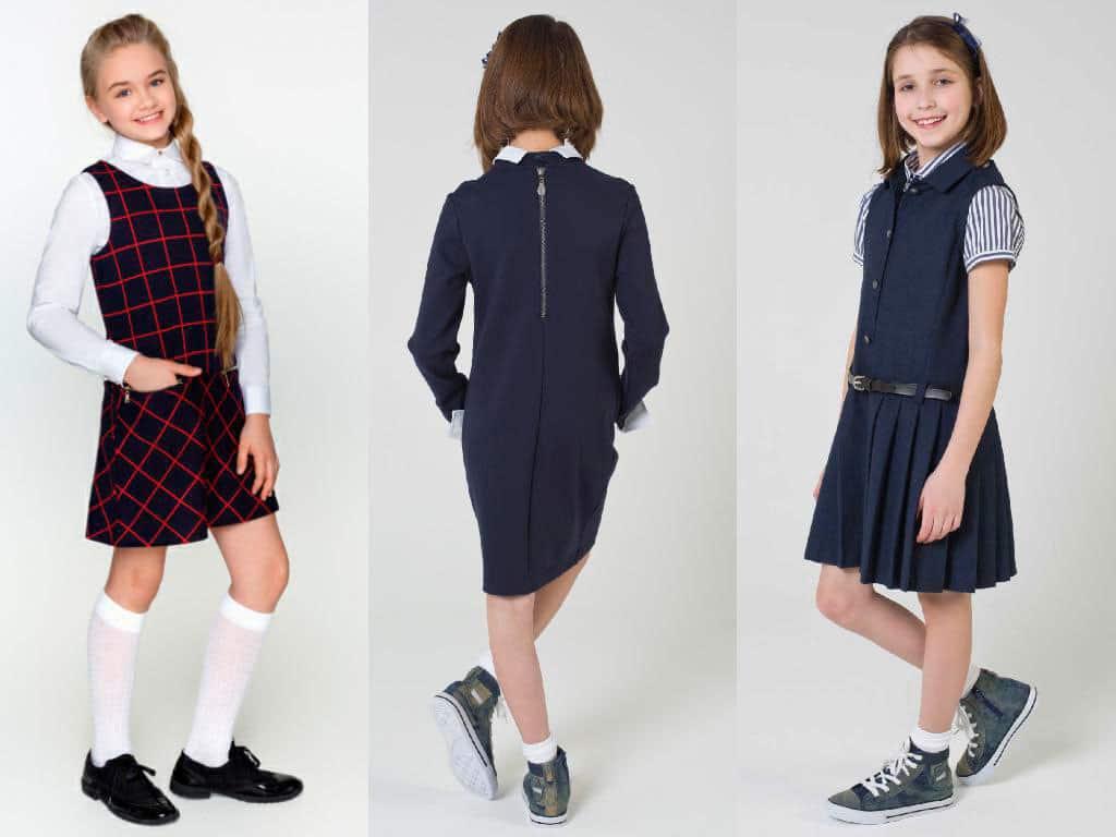 sarafany-devochki Готовимся к школе! Модные тренды в школьной одежде 2017/2018