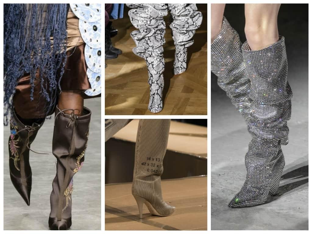 Modnye-sapogi-osen-zima-2017-2018 Женская мода осень зима 2017-2018: основные тенденции, фото
