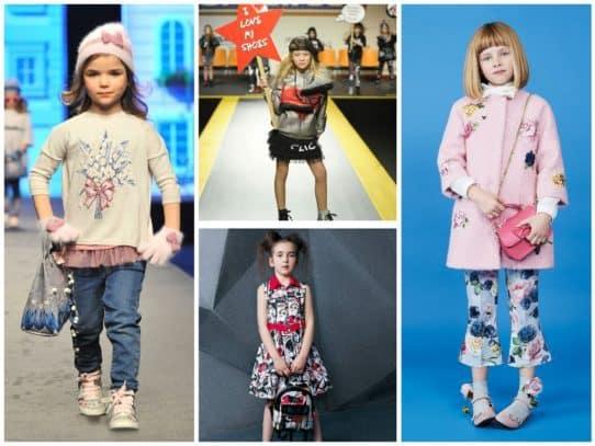Детская мода осень – зима 2017-2018: тренды, фоты