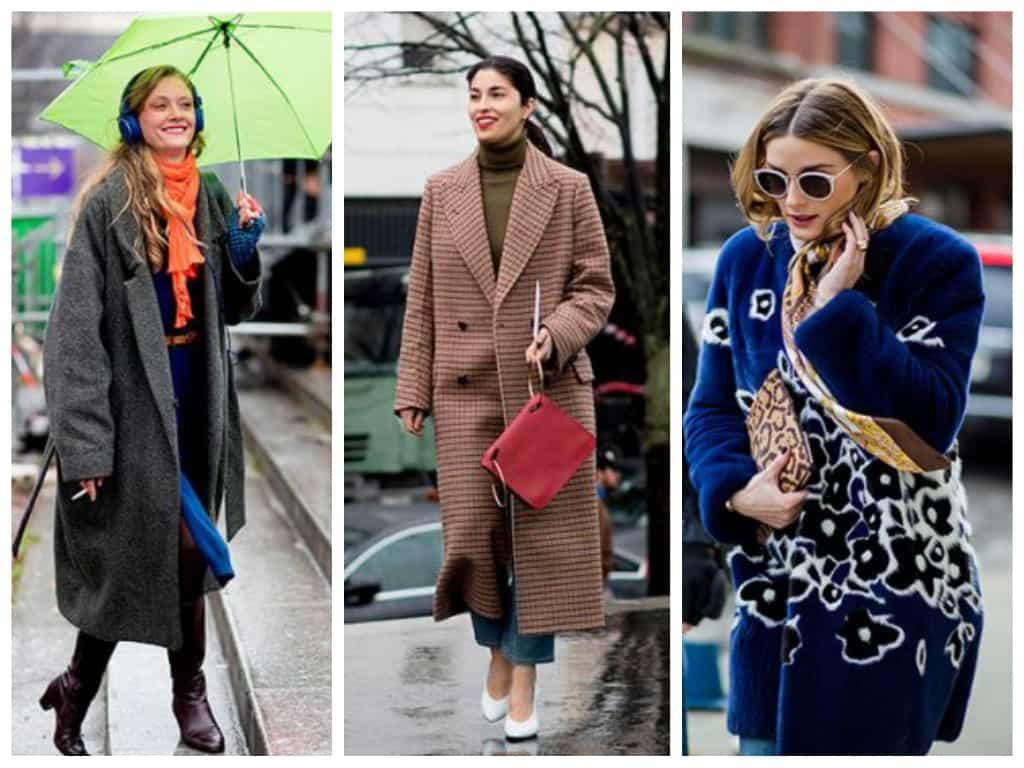 streetstyle Женская мода осень зима 2017-2018: основные тенденции, фото