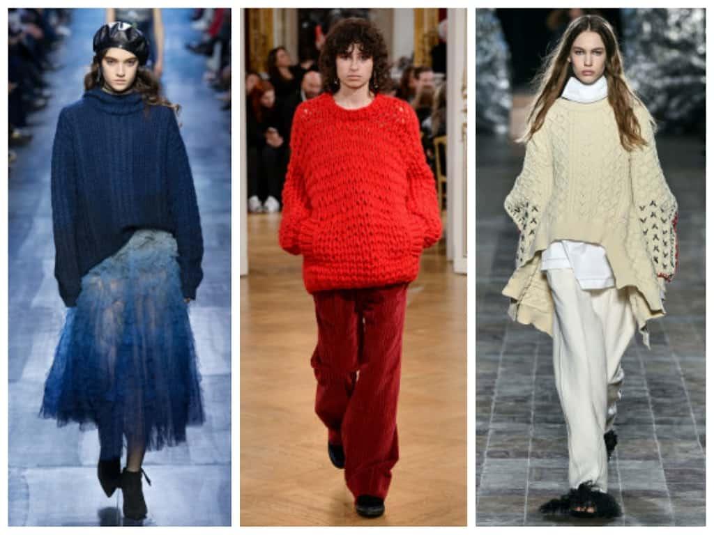 svitera-osen Женская мода осень зима 2017-2018: основные тенденции, фото