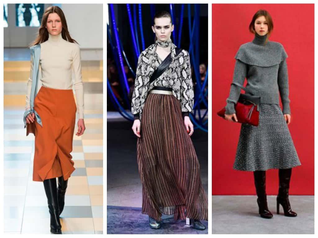 Женская мода осень зима 2017-2018: основные тенденции, фото